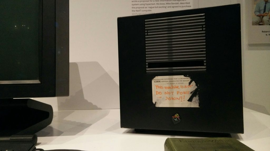 World's first web server at London Science Museum
