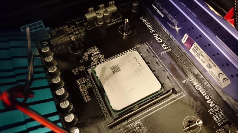AMD FX-8300 codename vishera